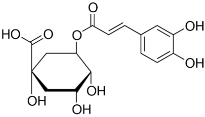 图片 绿原酸,Chlorogenic acid [CGA];BSZHgrade, ≥98% (HPLC)
