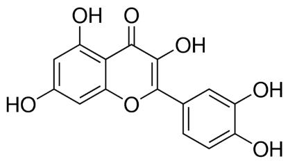 图片 槲皮素,Quercetin;Pharmaceutical Secondary Standard; Certified Reference Material
