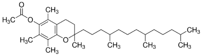 图片 DL-α-生育酚乙酸酯,Tocopheryl Acetate, a;Pharmaceutical Secondary Standard; Certified Reference Material