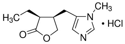 图片 匹鲁卡品盐酸盐 [毛果芸香碱/匹罗卡品],Pilocarpine hydrochloride;≥99% (titration), powder