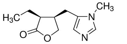 图片 匹鲁卡品 [毛果芸香碱/匹罗卡品],Pilocarpine;≥99.9%, HPLC