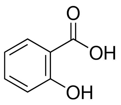 图片 水杨酸,Salicylic acid;meets analytical specification of Ph. Eur., BP, USP, 99.5-100.5% (calc. to the dried substance)