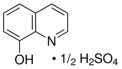 图片 8-羟基喹啉半硫酸盐,8-Quinolinol hemisulfate [8-OHQ];≥98.0% (dry substance, T), yellow