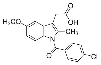 图片 吲哚美辛,Indomethacin;98.5-100.5% (in accordance with BP)