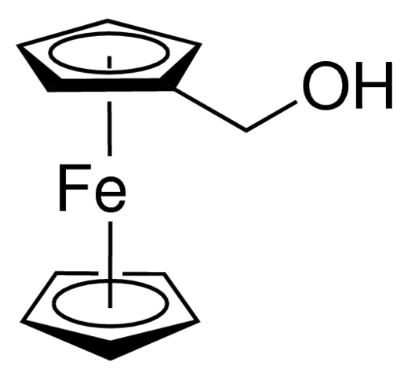 图片 二茂铁甲醇 [羟甲基二茂铁],Ferrocenemethanol [FcMeOH];98%