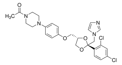 图片 酮康唑,Ketoconazole;99.0-101.0% (EP, titration)