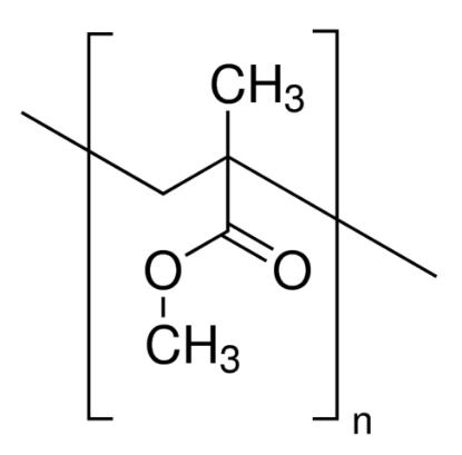 图片 聚甲基丙烯酸甲酯 [PMMA],Poly(methyl methacrylate);average Mw ~350,000 by GPC