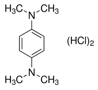 图片 N,N,N′,N′-四甲基对苯二胺二盐酸盐;N,N,N′,N′-Tetramethyl-p-phenylenediamine dihydrochloride [TMPPD];≥95%, powder
