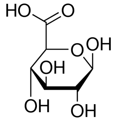 图片 D-葡萄糖醛酸 [D-葡糖醛酸],D-Glucuronic acid;≥98% (GC)