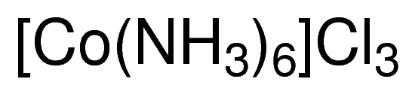 图片 三氯化六氨合钴 [六氨基氯化钴],Hexammine cobalt(III) chloride;for use in transformations, X-ray crystallography and NMR