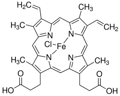 图片 氯化高铁血红素 [氯化血红素],Hemin;from bovine, ≥90%