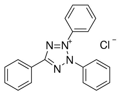 图片 2,3,5-氯化三苯基四氮唑,2,3,5-Triphenyltetrazolium chloride [TPTZ, TTZ, TTC];≥98.0% (HPLC)