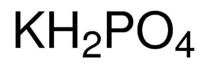 图片 磷酸二氢钾,Potassium phosphate monobasic;for molecular biology, ≥98.0%