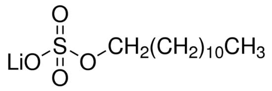 图片 十二烷基硫酸锂,Lithium dodecyl sulfate [LDS];BioReagent, for molecular biology, suitable for electrophoresis, ≥98.5% (GC)