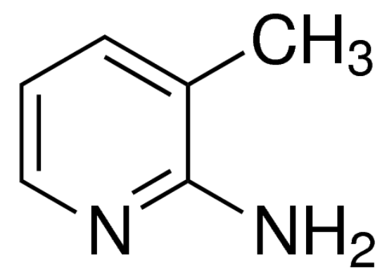 图片 2-氨基-3-甲基吡啶,2-Amino-3-methylpyridine;95%