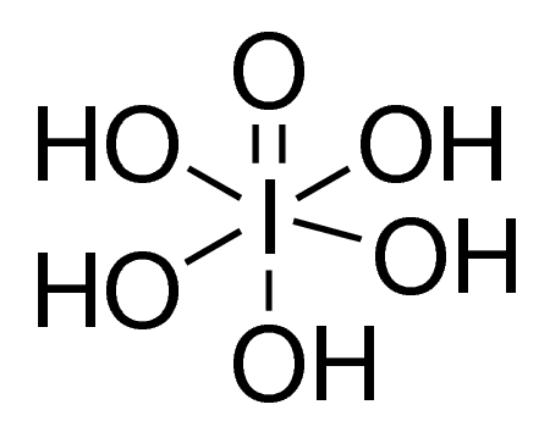 图片 高碘酸,Periodic acid;puriss. p.a., ACS reagent, for oxidimetric titration, crystallized, ≥99.0% (RT)