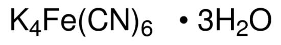 图片 铁氰化钾(II)三水合物,Potassium hexacyanoferrate(II) trihydrate;puriss. p.a., ACS reagent, reag. ISO, reag. Ph. Eur., ≥99%