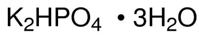 图片 磷酸氢二钾三水合物,Potassium phosphate dibasic trihydrate;for molecular biology, ≥99%
