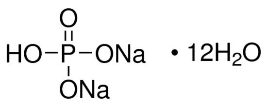 图片 磷酸氢二钠十二水合物,Sodium phosphate dibasic dodecahydrate;puriss. p.a., crystallized, ≥99.0% (T)