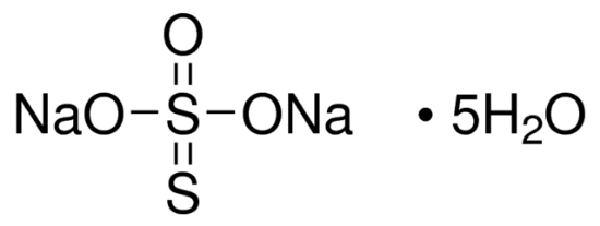 图片 硫代硫酸钠五水合物,Sodium thiosulfate pentahydrate;ReagentPlus®, ≥99.5%