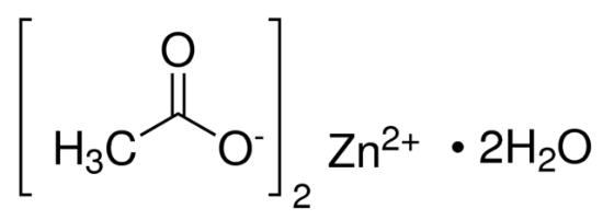 图片 醋酸锌二水合物 [二水乙酸锌],Zinc acetate dihydrate;puriss. p.a., ACS reagent, ≥99.0% (KT)