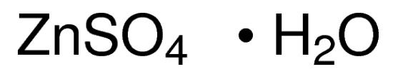 图片 硫酸锌一水合物,Zinc sulfate monohydrate;≥99.9% trace metals basis