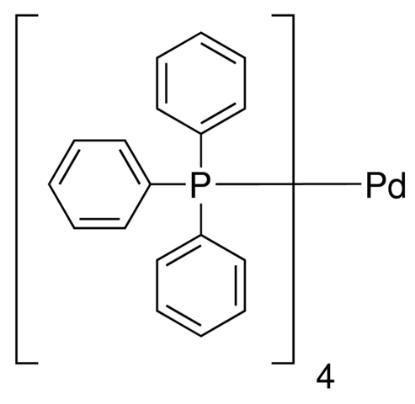 图片 四(三苯基膦)钯(0),Tetrakis(triphenylphosphine) palladium(0) [Pd(PPh3)4];99%