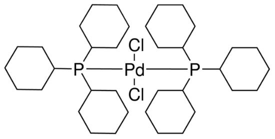 图片 双(三环己基膦)二氯化钯,Dichlorobis(tricyclohexylphosphine) palladium(II) [PdCl2[P(cy)3]2];95%