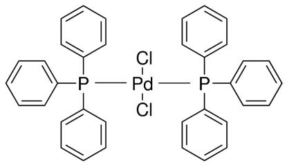 图片 双三苯基膦二氯化钯,Bis(triphenylphosphine)palladium(II) dichloride [PdCl2(PPh3)2];98%
