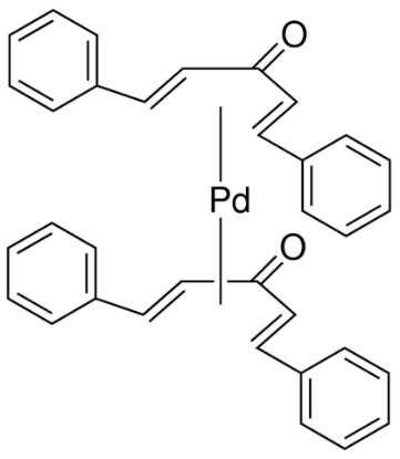图片 双(二亚苄基丙酮)钯(0),Bis(dibenzylideneacetone) palladium(0) [Pd(dba)2]