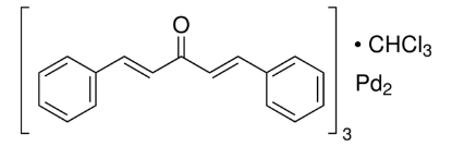 图片 三(二亚苄基丙酮)二钯(0)-氯仿加合物,Tris(dibenzylideneacetone) dipalladium(0)-chloroform adduct;Pd2(dba)3 · CHCl3