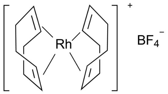 图片 双(1,5-环辛二烯)四氟硼酸铑(I),Bis(1,5-cyclooctadiene)rhodium(I) tetrafluoroborate