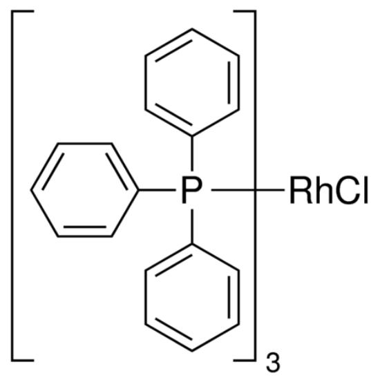 图片 三(三苯基膦)氯化铑(I),Tris(triphenylphosphine)rhodium(I) chloride;99.9% trace metals basis