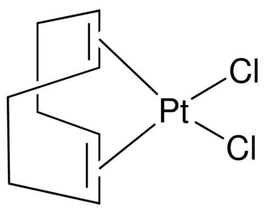 图片 (1,5-环辛二烯)二氯化铂(II),Dichloro(1,5-cyclooctadiene) platinum(II);Pt(COD)Cl2