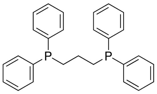 图片 1,3-双(二苯基膦)丙烷,1,3-Bis(diphenylphosphino)propane [dppp];97%