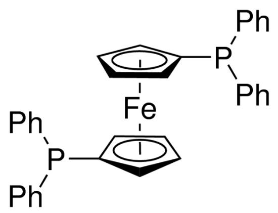 图片 1,1'-双(二苯基膦)二茂铁,1,1'-Bis(diphenylphosphino)ferrocene [DPPF];97%