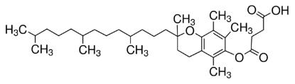 图片 D-α-生育酚琥珀酸酯,D-α-Tocopherol succinate;BioXtra, ≥98.0% (HPLC)
