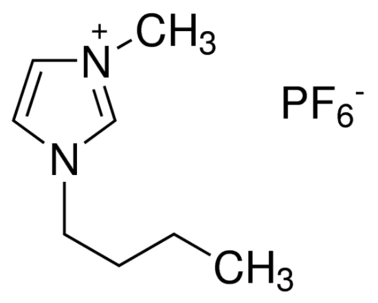 图片 1-丁基-3-甲基咪唑六氟磷酸盐,1-Butyl-3-methylimidazolium hexafluorophosphate [BMIMPF6];for catalysis, ≥98.5% (T)