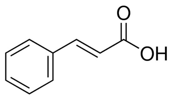 图片 反式肉桂酸,trans-Cinnamic acid;natural, ≥99%, FCC, FG