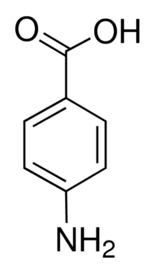 图片 4-氨基苯甲酸 [4-ABA, PABA],4-Aminobenzoic acid;purified by sublimation, ≥99%