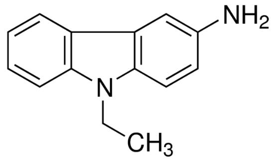 图片 3-氨基-9-乙基咔唑,3-Amino-9-ethylcarbazole [AEC];≥95% (HPLC), powder