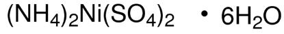 图片 硫酸镍胺六水合物,Ammonium nickel(II) sulfate hexahydrate;purum p.a., ≥98.0% (KT)