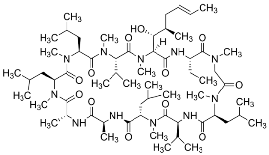 图片 环孢霉素A [环孢素A, 环孢菌素A],Cyclosporin A;from Tolypocladium inflatum, BioReagent, for molecular biology, ≥95%