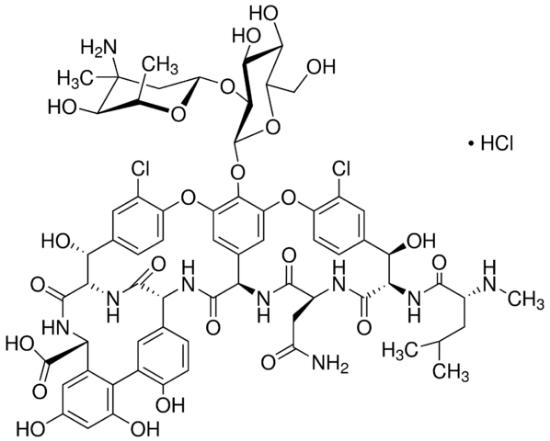 图片 万古霉素盐酸盐 [盐酸万古霉素],Vancomycin hydrochloride from Streptomyces orientalis;BioReagent, suitable for plant cell culture, ≥900 μg per mg