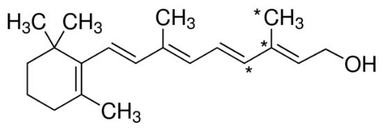 图片 视黄醇 [维生素A],Retinol;≥95.0% (HPLC), ~2700 U/mg