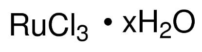 图片 三氯化钌(III)水合物,Ruthenium(III) chloride hydrate;38.0-42.0% Ru basis