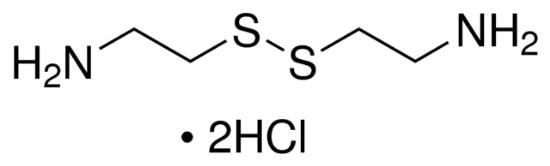 图片 胱胺二盐酸盐,Cystamine dihydrochloride;96%