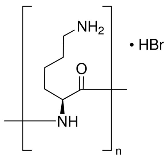 图片 多聚-L-赖氨酸氢溴酸盐 [多聚赖氨酸],Poly-L-lysine hydrobromide;mol wt 15,000-30,000 by viscosity