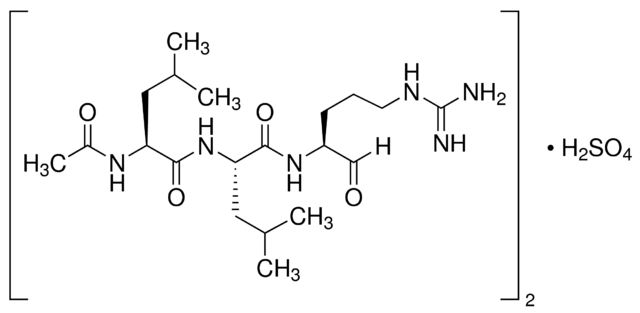 图片 亮肽素 [亮抑酶肽, 亮抑酶酞],Leupeptin [Acetyl-Leu-Leu-Arg-al];synthetic, powder, >4000 U/mg