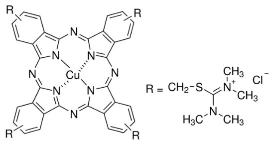 图片 阿尔新蓝8GX [阿利新蓝8GX],Alcian Blue 8GX;BioReagent, suitable for detection of glycoproteins